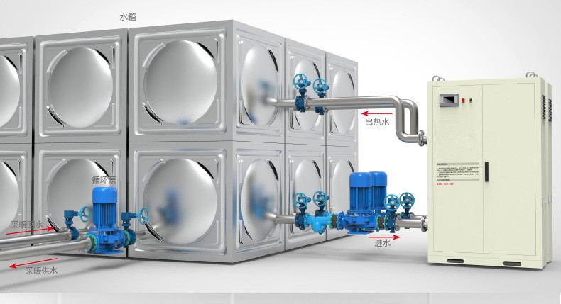 新疆电供暖锅炉-乌鲁木齐电采暖热水炉