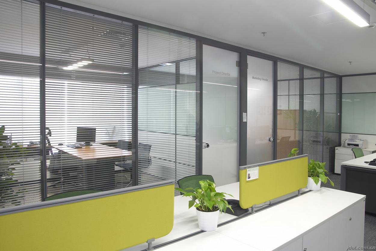 百葉玻璃隔斷-玻璃鋁合金隔斷-鋁合金的玻璃隔斷