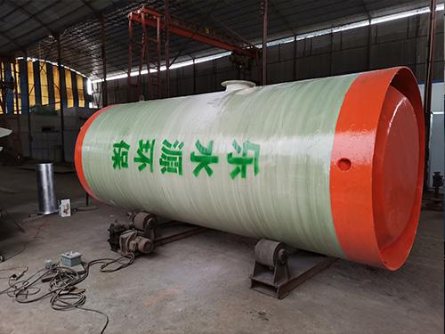 大荔玻璃鋼泵站-想買優惠的一體化預制泵站,就來樂水源環保