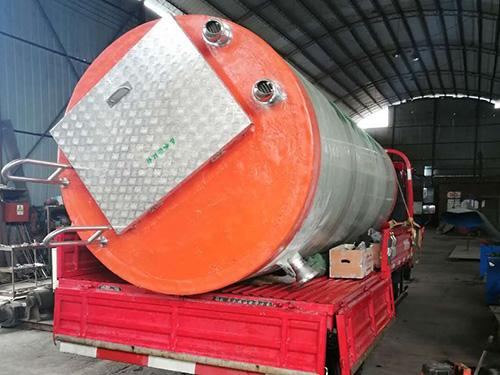 玻璃鋼泵站廠家-預制一體化泵站-一體化泵站品牌