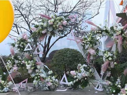 中式婚礼常用花材|西安划算的结婚鲜花哪有卖