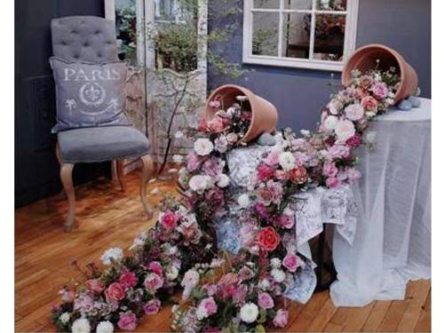哪些鲜花适合应用在婚礼上-西安婚礼常用花材-西安结婚用花