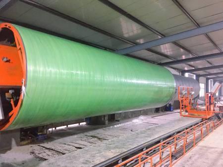 玻璃钢管道缠绕机//玻璃钢管道缠绕机厂