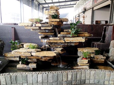 假山鱼池-专业的园林假山石供应