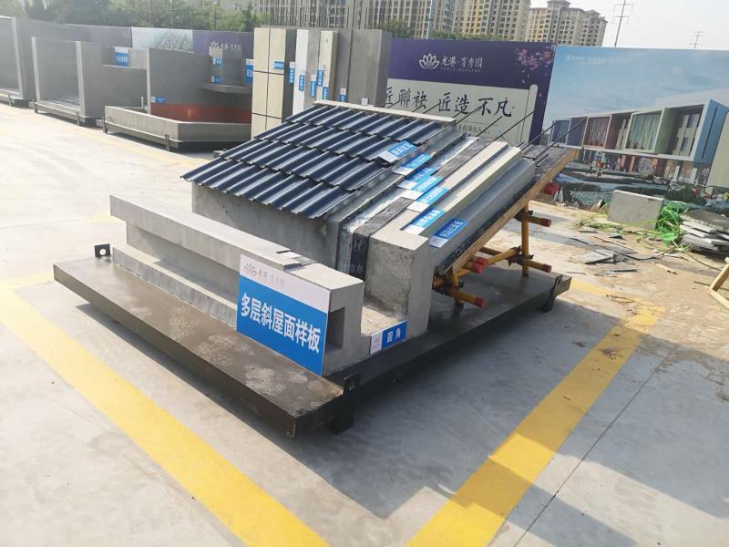 工法样板安装哪家技术好 多层斜屋面样板价格