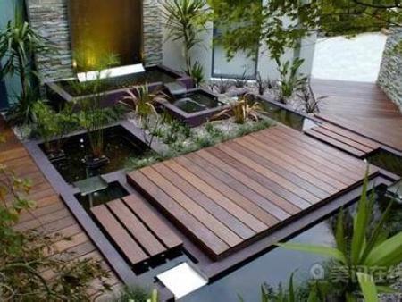 陜西防腐木地板批發-新的防腐木地板刷木油方法