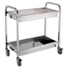 韶关不锈钢收碗车口碑好|有品质的不锈钢收碗车供货商