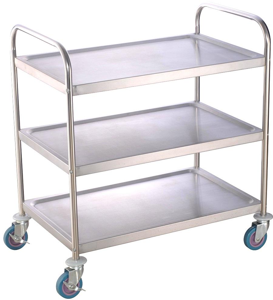 韶关不锈钢餐车哪里找 韶关哪里有供应价格优惠的不锈钢餐车