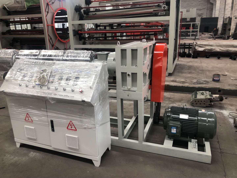 熔噴布擠出設備廠家 華特防腐保溫設備供應值得信賴的熔噴布擠出機