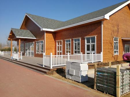 别墅木屋-移动木屋工程-景观木头屋工程