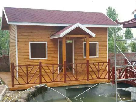 别墅木屋-户外移动木屋设计-景观庭院木屋设计