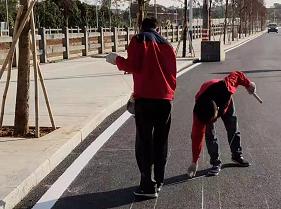 深圳道路劃線_鄭州信譽好的公路標志標線經銷商