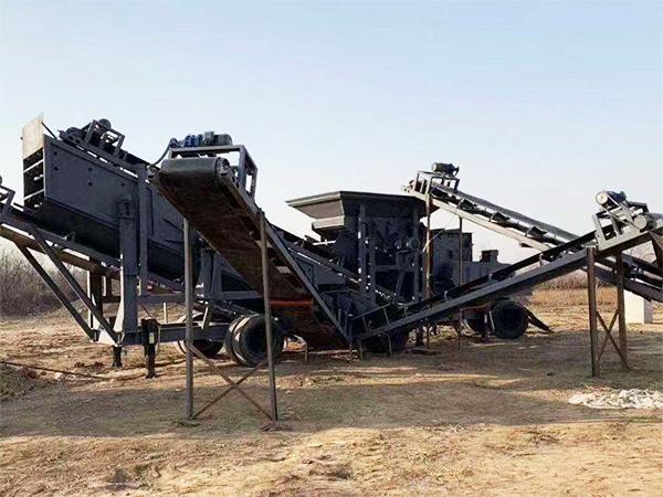 移动式制砂洗沙生产线_铭盛重工批发移动式制砂洗沙设备