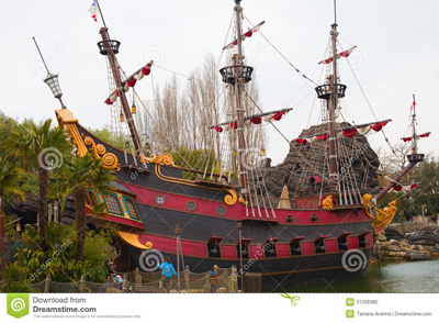 玛雅水上乐园船景观船海盗船设计古典景观船厂家