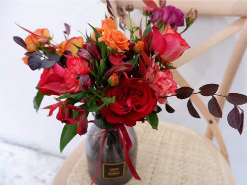 包月花配送-想買優惠的家用鮮花-就到陜西領航花藝