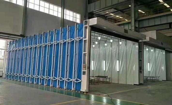鑫中信環保設備_質量好的噴漆伸縮房提供商,山東噴漆伸縮房生產廠家