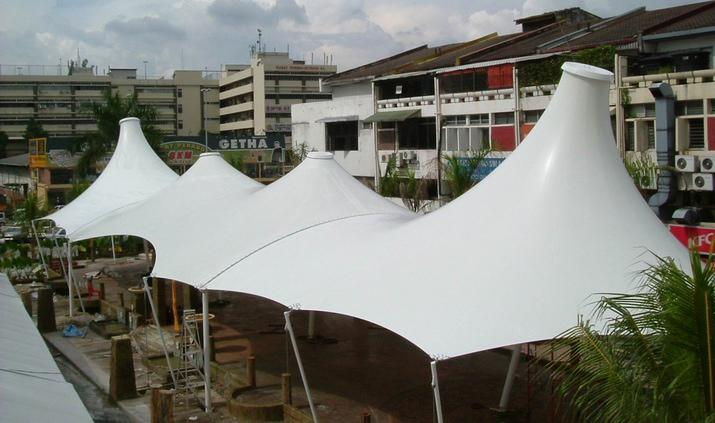 景观膜结构-廊坊广场景观膜结构-衡水广场景观膜结构