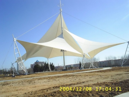 膜结构景观棚-商丘景观膜结构车棚-信阳景观膜结构车棚