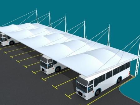 山东膜结构车棚厂家-南阳车棚膜结构-漯河车棚膜结构