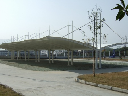 郑州膜结构车棚厂家-膜结构车棚建造哪里有提供