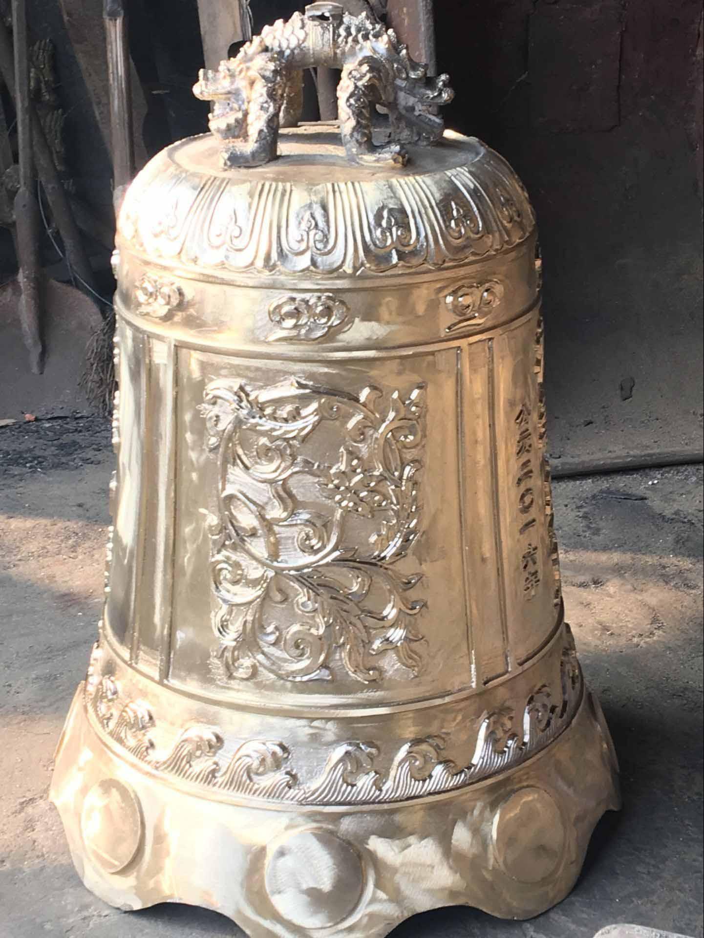 生产大铜钟厂,铸铜铜钟,仿古铜钟
