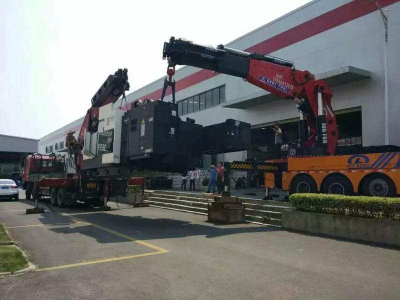 常熟起重吊裝公司-口碑好的設備搬運服務就在蘇州聚力搬運