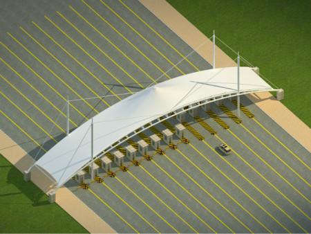 太原膜结构收费站设计公司-枣庄膜结构收费站厂家