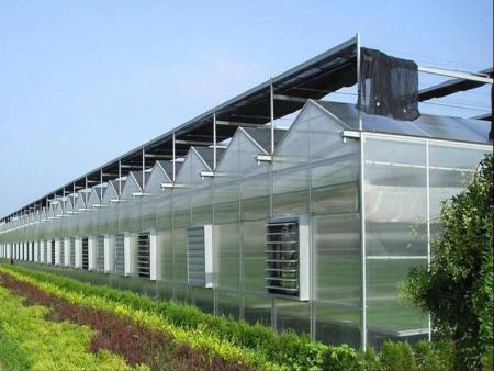 阳光板智能温室//PC阳光板温室