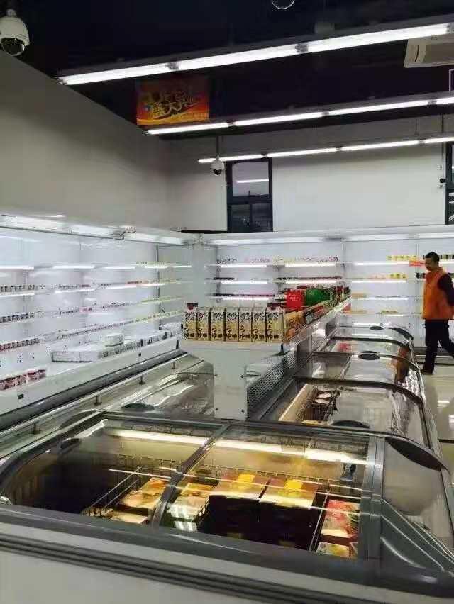 新疆白雪冷柜哪家好_博力久能暖通工程高质量的新疆风幕柜出售