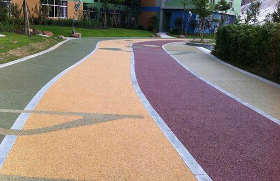 钦州市混凝土彩色地坪,防城港市压膜印花地坪