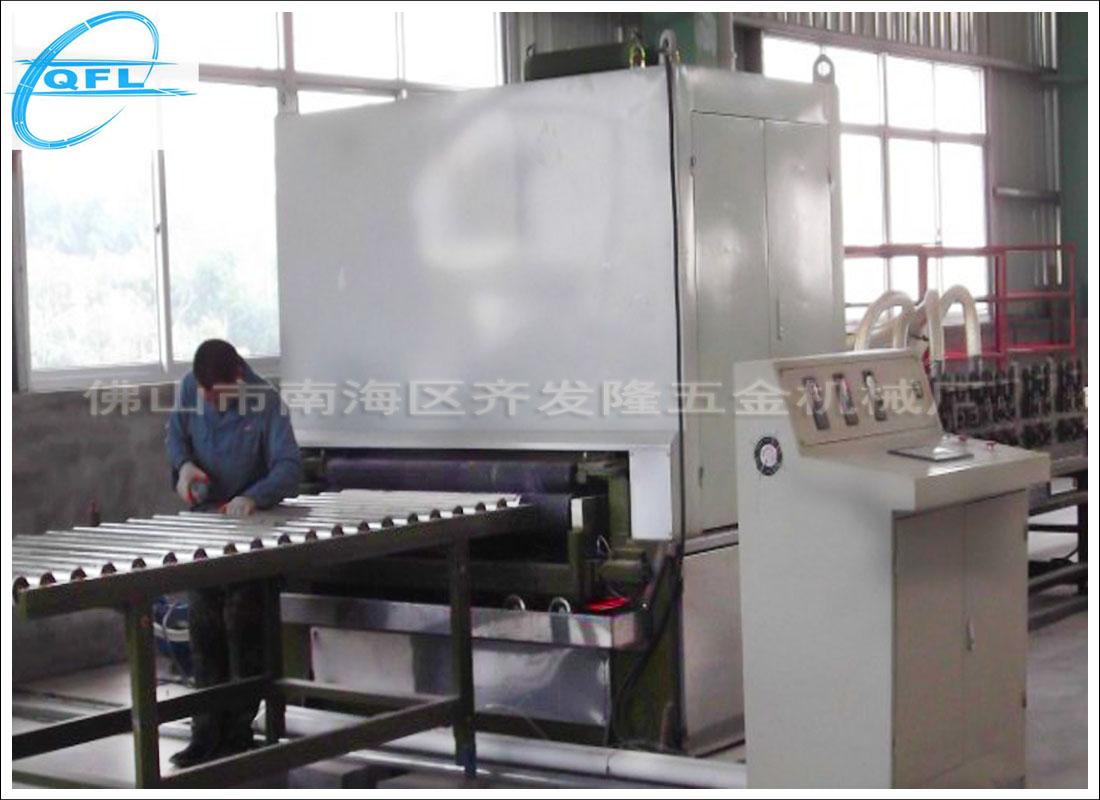 上海创新的砂光机-规模大的不锈钢雪花砂机生产商
