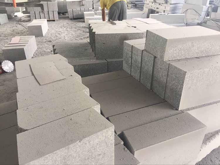 海南芝麻灰石材-石材護理機-石材晶面