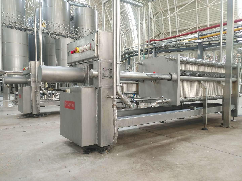 板框紙板過濾機_供應河南高質量的板框硅藻土過濾機