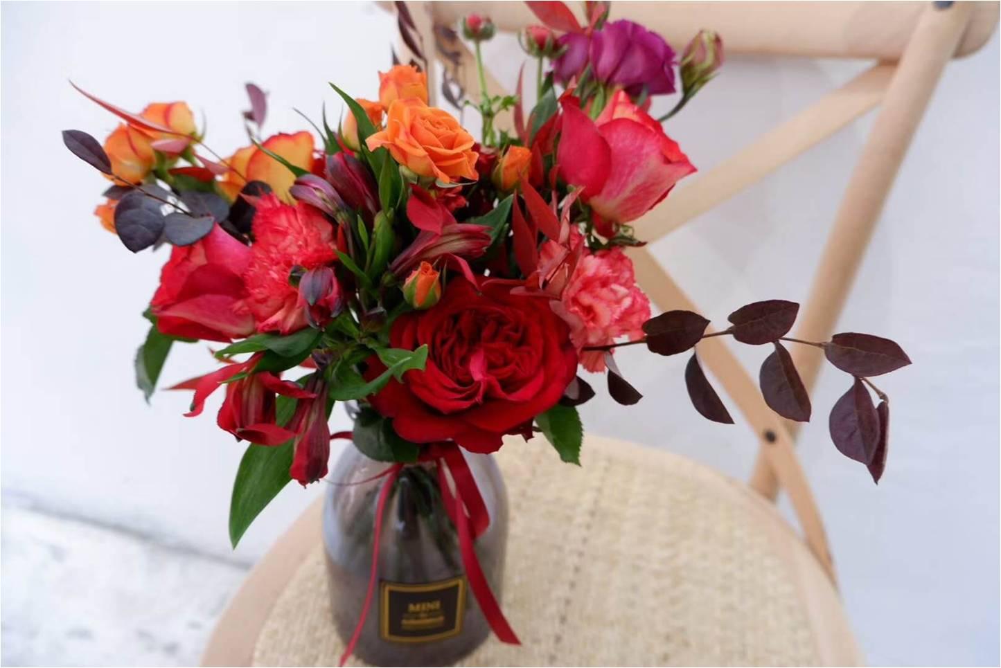 花束-洋甘菊速递-红玫瑰速递