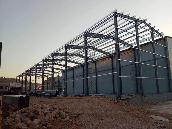 天水钢结构框架楼-甘肃口碑好的钢结构工程
