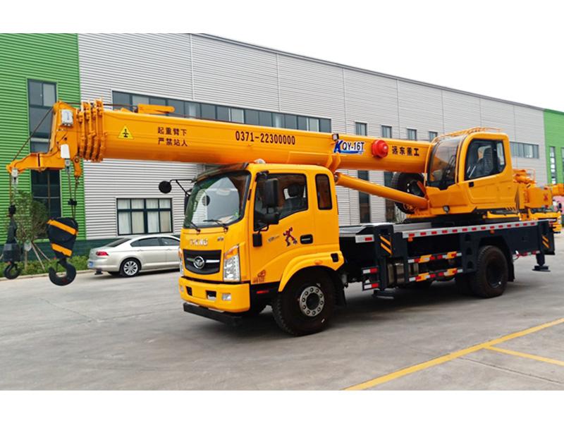 云南16吨吊车厂家 可信赖的16吨吊车厂家在河南