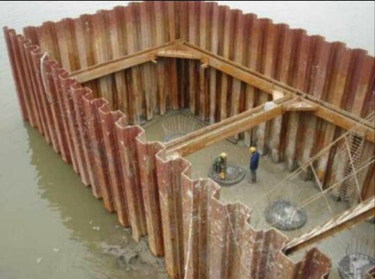 宁夏钢板桩-银川钢板桩施工厂家-华浩建设