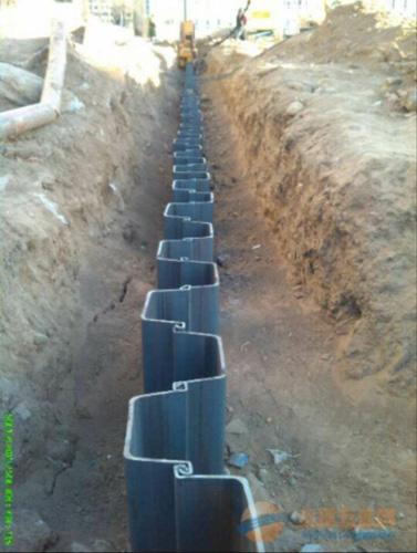 宁夏钢板桩工程-银川市高品质宁夏钢板桩批售