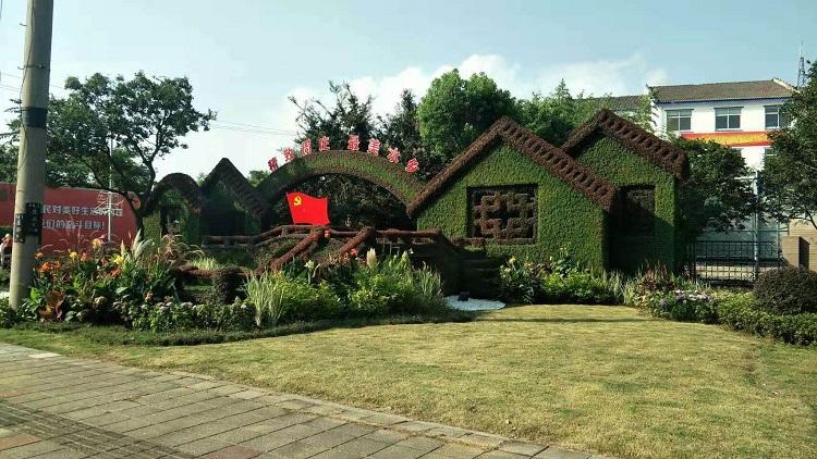 青岛花海景观工程设计施工-性价比高的立体花坛造型火热供应中