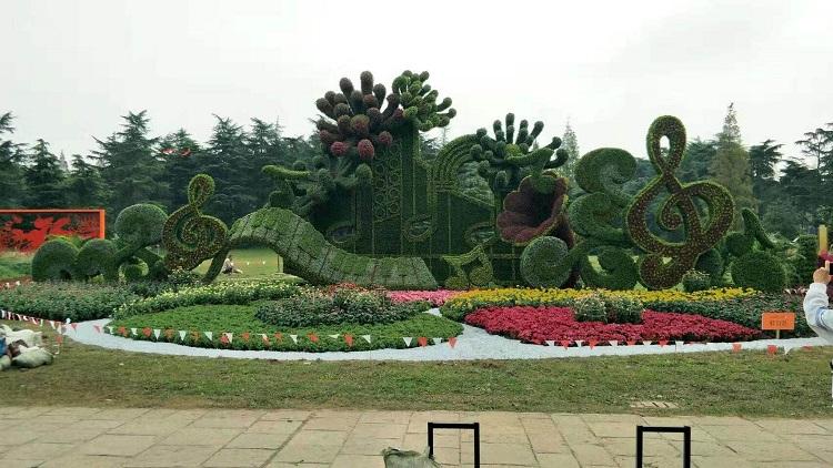 立體綠化工程設計施工-天津立體花壇造型價格