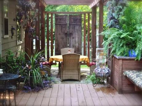 【炬红园林】烟台庭院绿化 烟台别墅绿化 烟台景观设计
