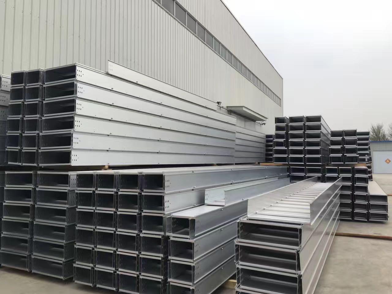 槽式橋架生產廠家-平頂山槽式電纜橋架廠家