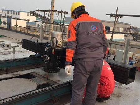 单点系泊现场机加工 海洋船舶法兰安装 便携式镗孔机【耀荣】