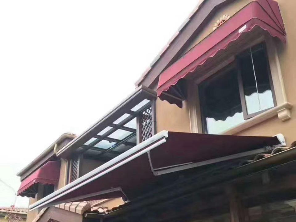 郑州遮阳篷厂家直销耐用十年
