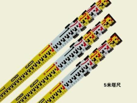 购买新品5m塔尺选择郴州金点测绘仪器 -零陵5m塔尺
