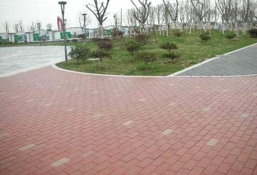 厦门透水砖_优良彩色透水砖盈峰水泥制品