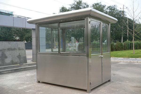 肇庆不锈钢保安亭-广州市哪里有品质好的不锈钢保安亭供应