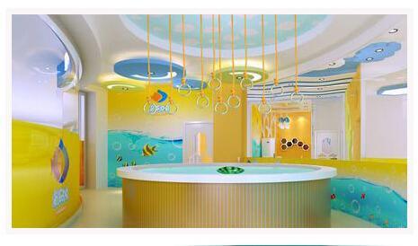 咸阳高新区婴儿游泳馆|要找婴幼儿洗澡就找爱婴海水育馆