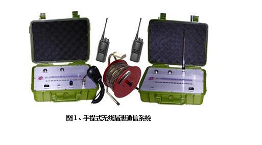 TX-10型無線漏泄通信系統