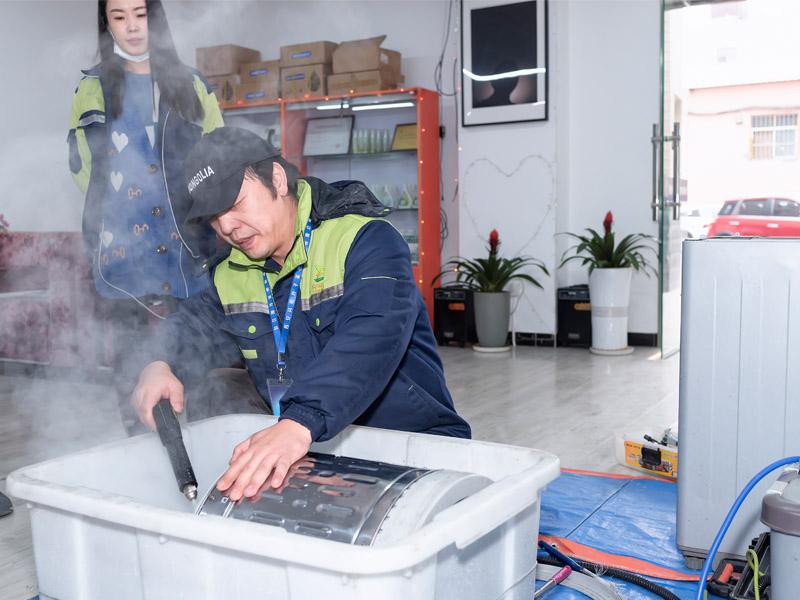 空調清洗培訓-西安冰箱清洗培訓學校-西安冰箱清洗技術培訓學校